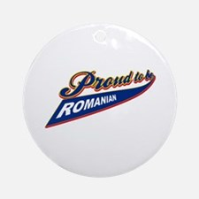 Proud to be Belarusian Ornament (Round)
