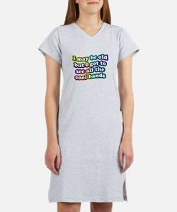All The Cool Bands Women's Nightshirt