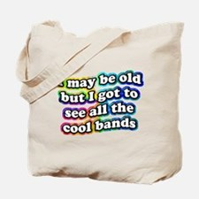 All The Cool Bands Tote Bag