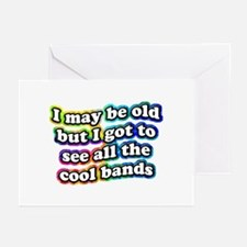 All The Cool Bands Greeting Cards (Pk of 10)