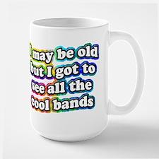 All The Cool Bands Large Mug Mugs