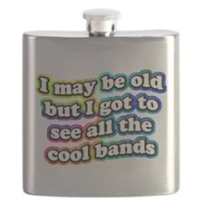 All The Cool Bands Flask