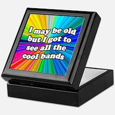 All The Cool Bands Keepsake Box