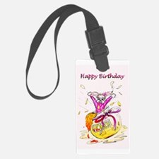 Honey Bunny, Happy Birthday in Pink Luggage Tag