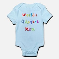 World's Okayest Mom Body Suit