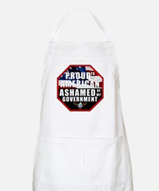 Proud USA Ashamed Government Apron