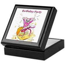 Honey Bunny, Happy Birthday invitation Keepsake Bo