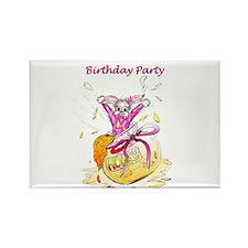 Honey Bunny, Happy Birthday invitation Rectangle M
