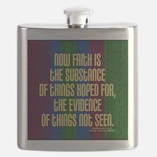 Hebrews 11:1 Faith Flask