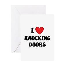I Love Knocking Doors - LDS Clothing - LDS T-Shir