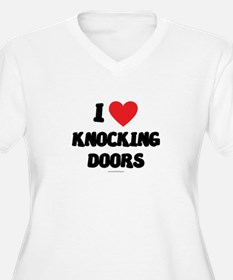 I Love Knocking Doors - LDS Clothing - LDS T-Shir
