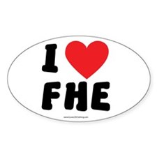 I Love FHE - LDS Clothing - LDS T-Shirts Decal