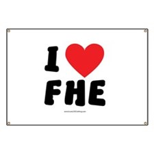 I Love FHE - LDS Clothing - LDS T-Shirts Banner