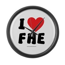 I Love FHE - LDS Clothing - LDS T-Shirts Large Wal