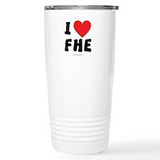 I Love FHE - LDS Clothing - LDS T-Shirts Travel Mu
