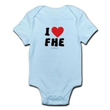 I Love FHE - LDS Clothing - LDS T-Shirts Body Suit