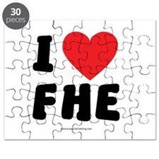 I Love FHE - LDS Clothing - LDS T-Shirts Puzzle
