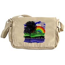 Earth Day Messenger Bag
