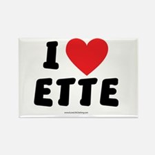 I Love ETTE - LDS Clothing - LDS T-Shirts Rectangl
