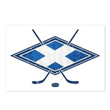 Scottish Ice Hockey Flag Postcards (Package of 8)