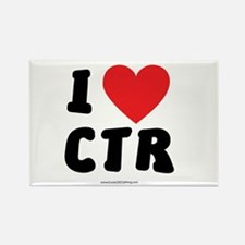 I Love CTR - LDS Clothing - LDS T-Shirts Rectangle