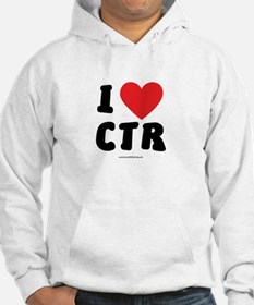 I Love CTR - LDS Clothing - LDS T-Shirts Hoodie