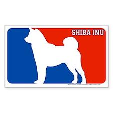 """Shiba Inu"" MLD Rectangle Decal"