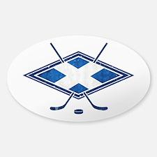 Scottish Ice Hockey Flag Decal