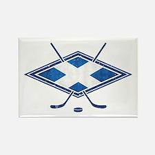 Scottish Ice Hockey Flag Rectangle Magnet