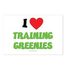 I Love Training Greenies - LDS Clothing - LDS T-S