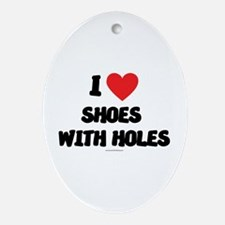 I Love Shoes with Holes - LDS Clothing - LDS T-Sh