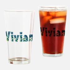 Vivian Under Sea Drinking Glass