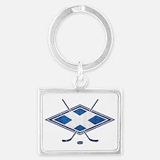 Scottish Ice Hockey Flag Keychains