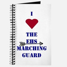I Heart The EHS Marching Guard Journal