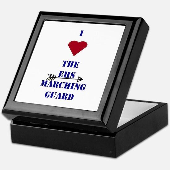 I Heart The EHS Marching Guard Keepsake Box