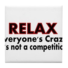 RELAX Tile Coaster