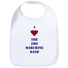 I Heart The EHS Marching Band Bib