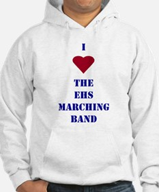 I Heart The EHS Marching Band Hoodie