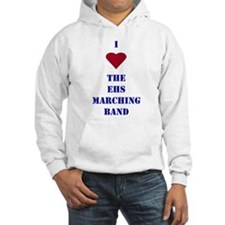 I Heart The EHS Marching Band Jumper Hoody