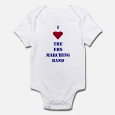 I Heart The EHS Marching Band Infant Bodysuit