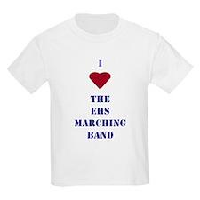 I Heart The EHS Marching Band Kids T-Shirt