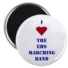 "I Heart The EHS Marching Band 2.25"" Magnet (10 pac"