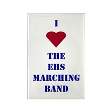 I Heart The EHS Marching Band Rectangle Magnet