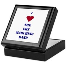 I Heart The EHS Marching Band Keepsake Box