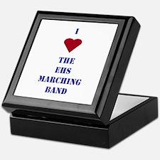 I Heart The EHS Marching Band Keepsake Box