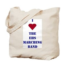 I Heart The EHS Marching Band Tote Bag