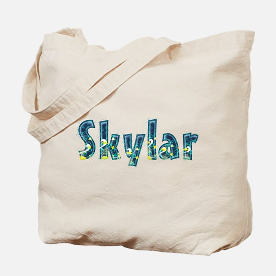 Skylar Under Sea Tote Bag