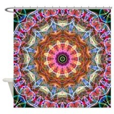 Nature Love Mandala Shower Curtain