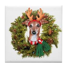 Wreath IG Tile Coaster