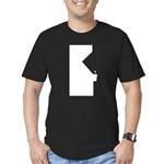 Retro Gamer arcade Men's Fitted T-Shirt (dark)